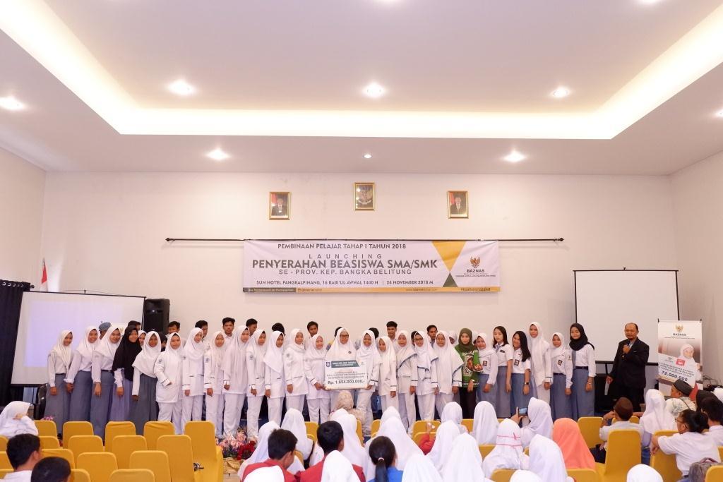 Launching Penyerahan Beasiswa Pelajar Tahun 2018