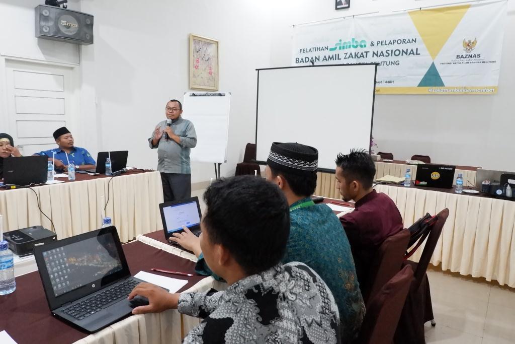 Pelatihan SiMBA Untuk Tingkatkan Pelayanan Baznas Daerah