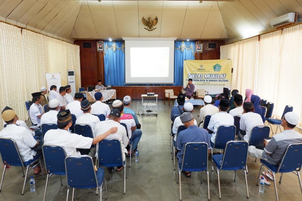 Pendidikan dan Pelatihan Bagi Muallaf di Kab. Bangka Barat