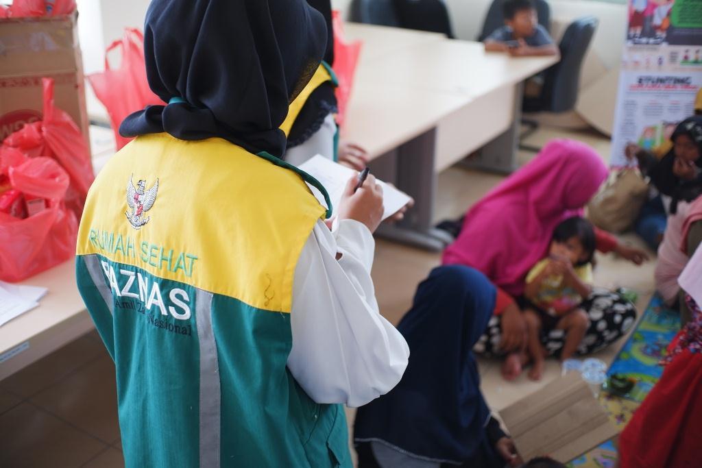 BAZNAS Babel & RSB Timah Pangkalpinang Kerjasama Berikan Asupan Gizi Anak untuk Mencegah Stunting