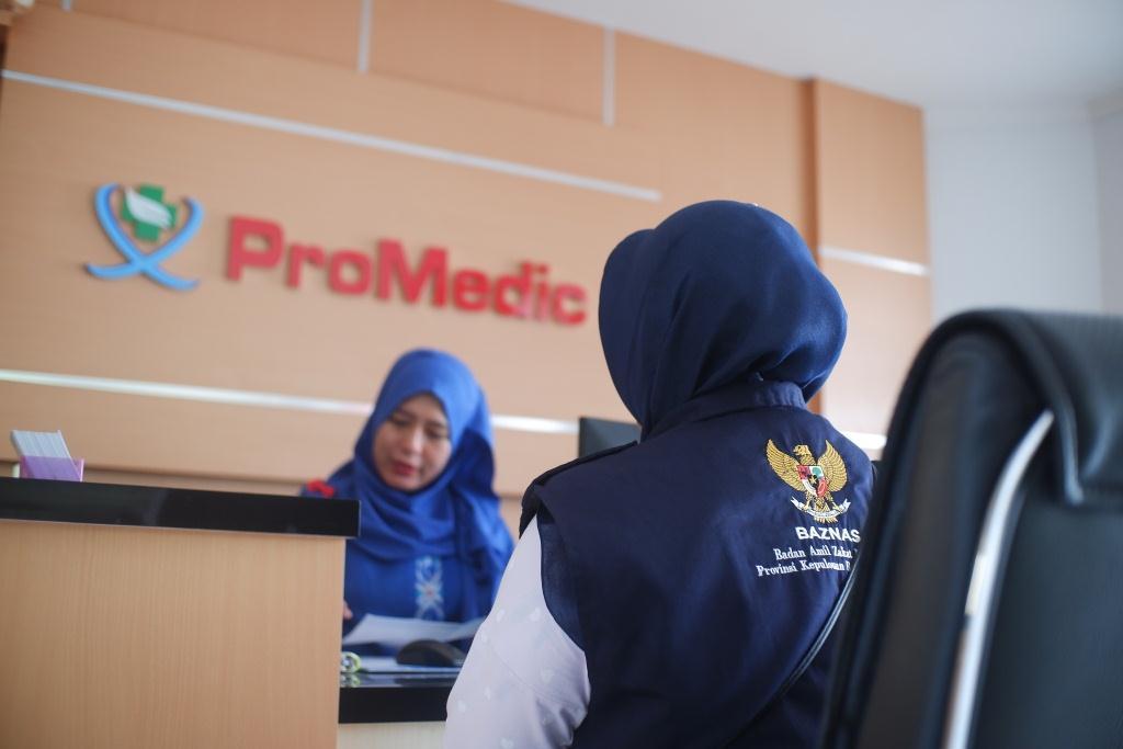 BAZNAS Bantu Kebutuhan Kesehatan Warga di tengah Pandemi