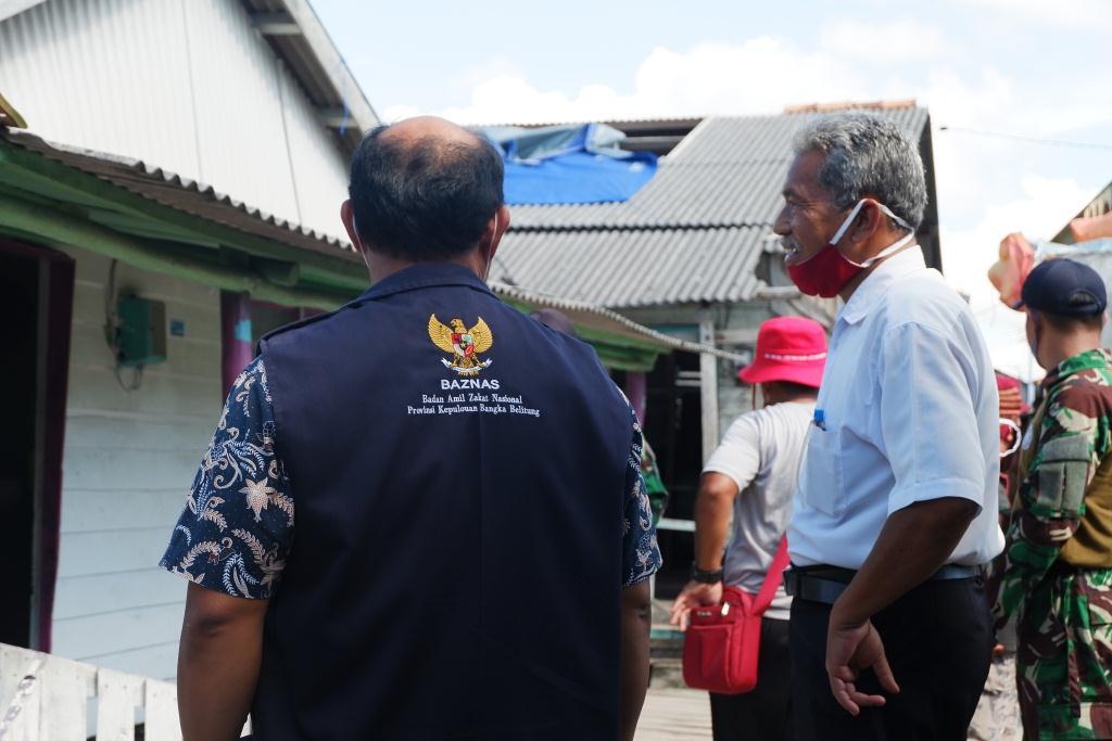 BAZNAS Bantu Perbaikan Rumah Warga Terdampak Puting Beliung