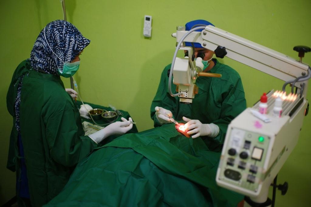 BAZNAS Babel Jalin Kerjasama Dengan Klinik Mata Bakti Timah Jalankan Operasi Katarak