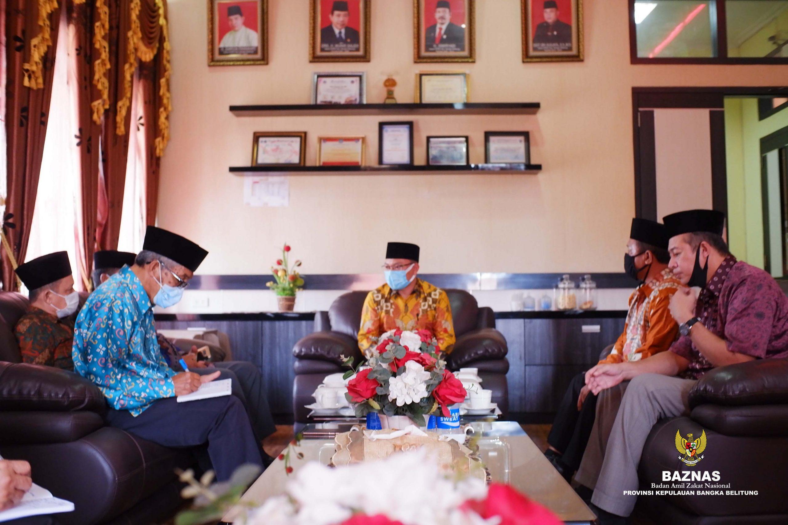 Audiensi BAZNAS Prov. Kep. Bangka Belitung bersama DPRD Prov. Kep. Bangka Belitung
