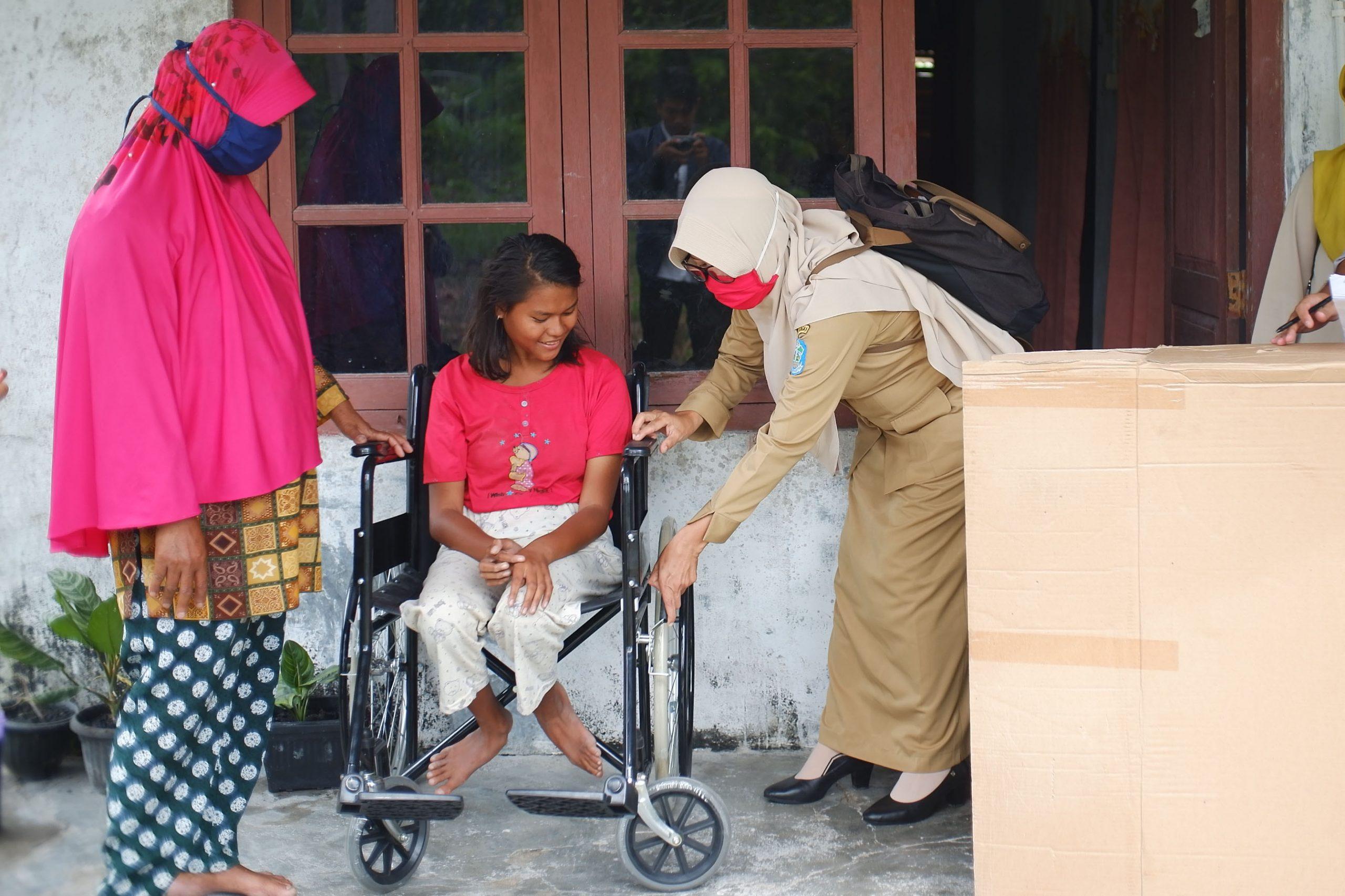 Bahagia Soleha, Sekarang Dapat Menggunakan Kursi Roda