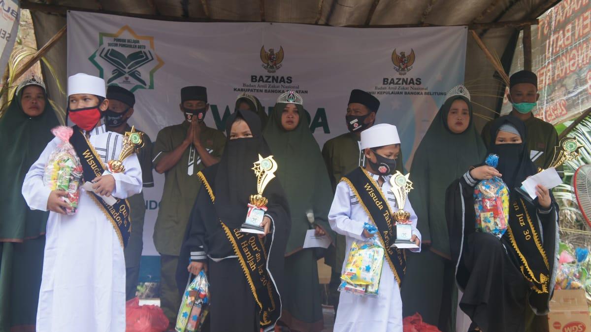 Wisuda Tahfidz Juz 30 Pondok Belajar Dusun Pangkalen Batu